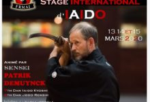Photo of Stage international IAIDO